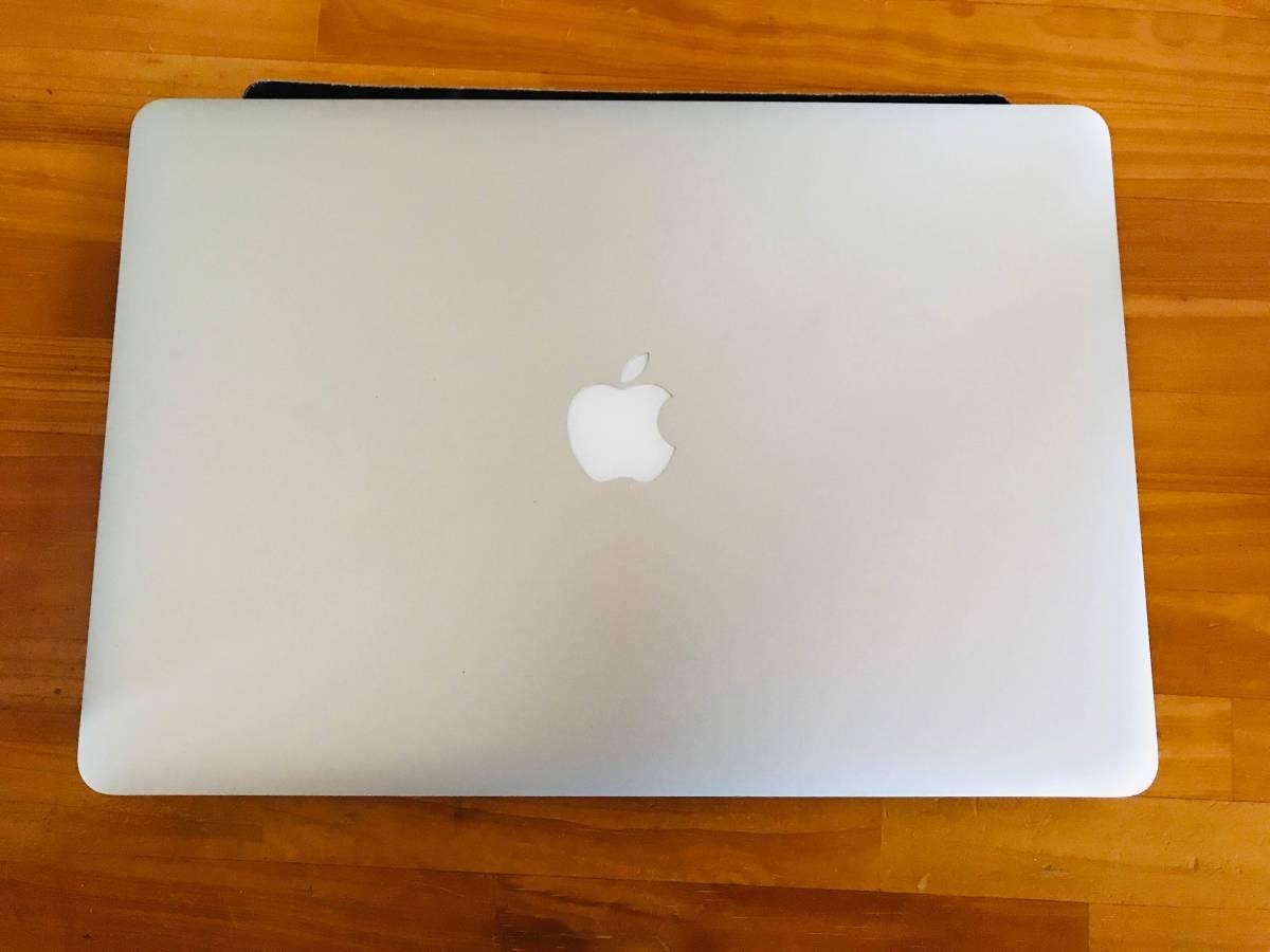 中古 Macbook Pro Retina 15インチ Mid 2012 Early 2013 A1398 液晶 画面 上半部 上半身 LCD スクリーン ディスプレイ パネル ★送料無料