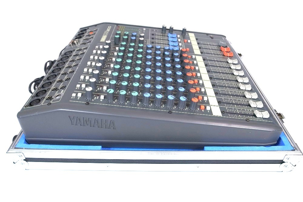 YAMAHA ヤマハ MX200-16 16CH ケース付き ミキサーケース ハードケース ミキサー 動作品_画像6