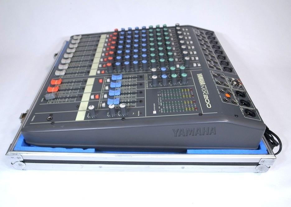 YAMAHA ヤマハ MX200-16 16CH ケース付き ミキサーケース ハードケース ミキサー 動作品_画像4