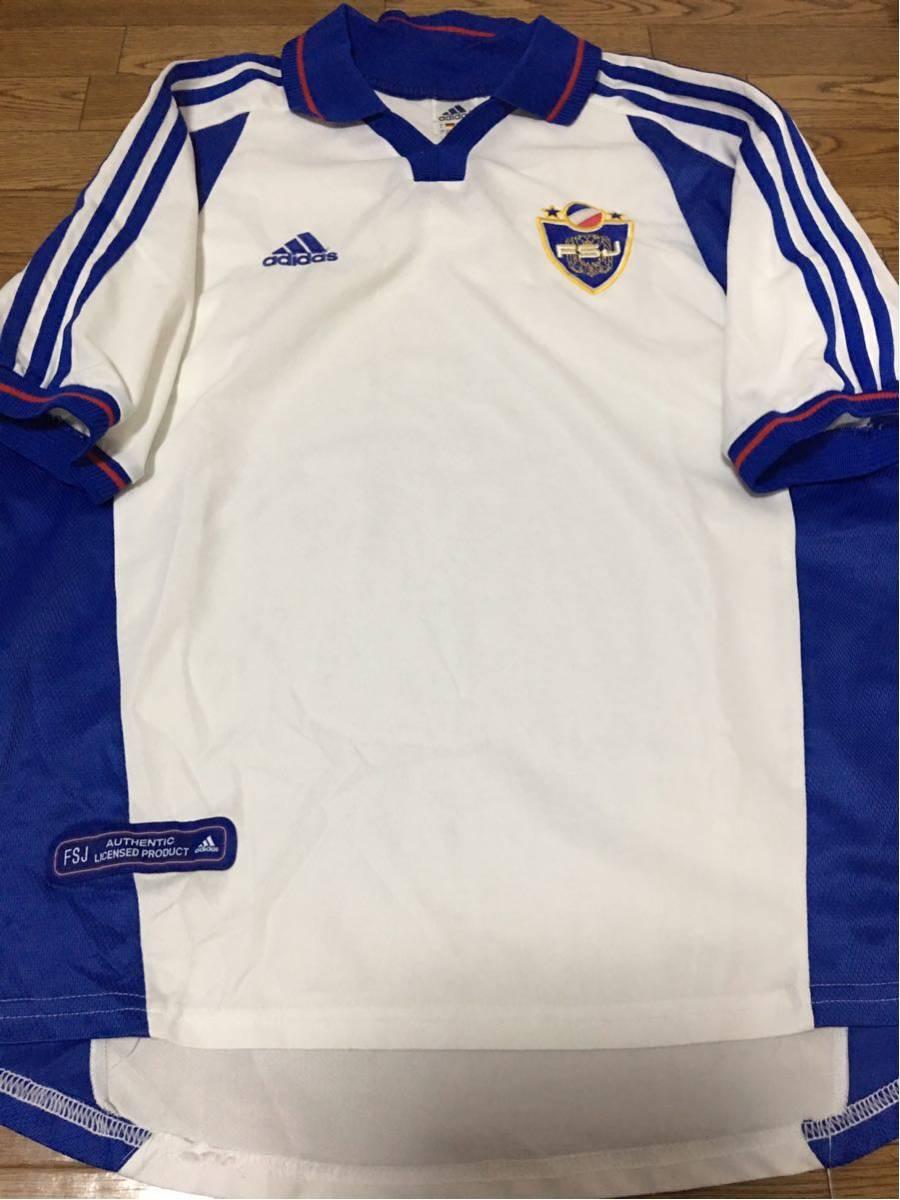 2000 ユーゴスラビア代表 AWAYユニフォーム ADIDAS アディダスジャパン ストイコビッチ ミヤトビッチ スタンコビッチ ミハイロビッチ
