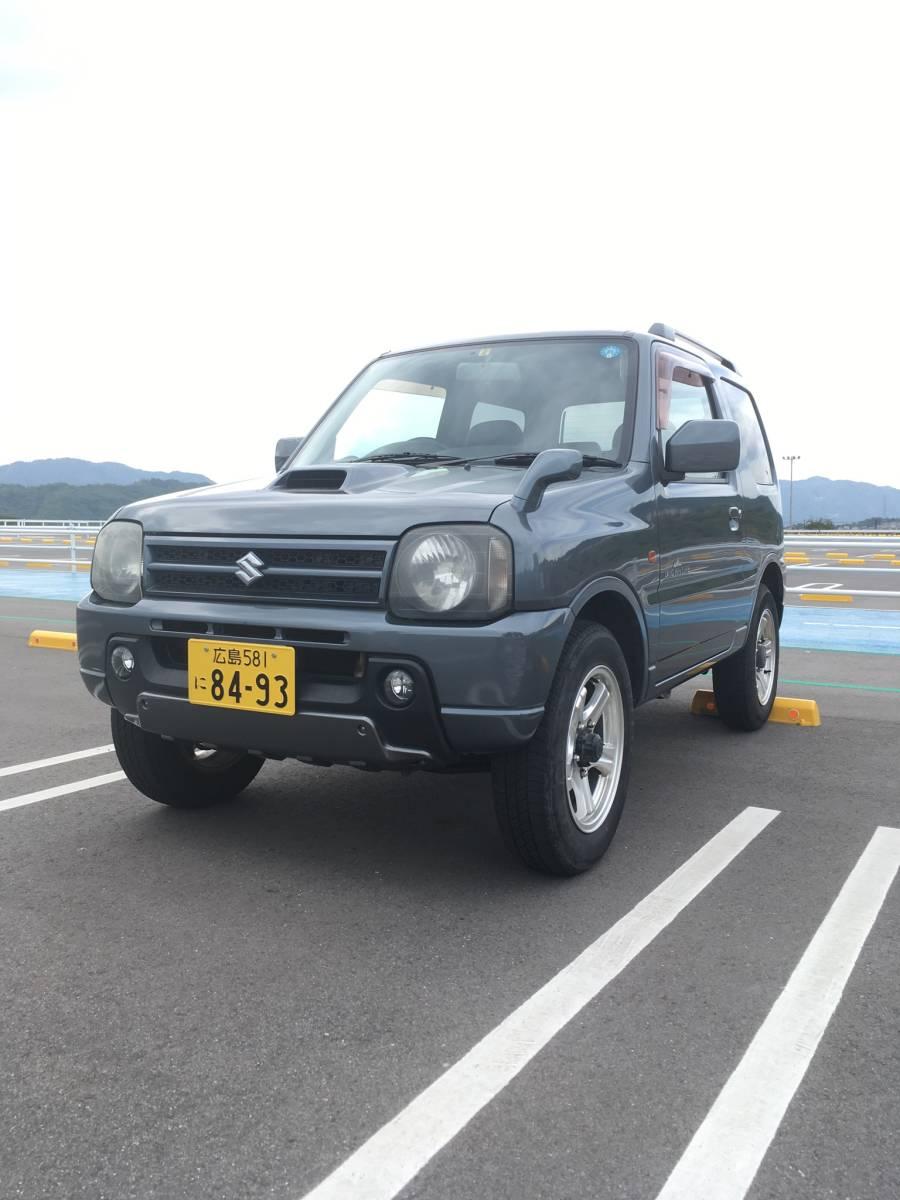 H17年 ジムニー JB23 1円スタート 売り切り エンジン載せ替え 車検 令和2年5月