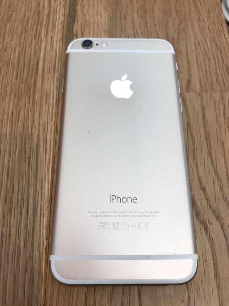 iphone6 au 16gb ゴールド 画面バッテリー新品_画像2