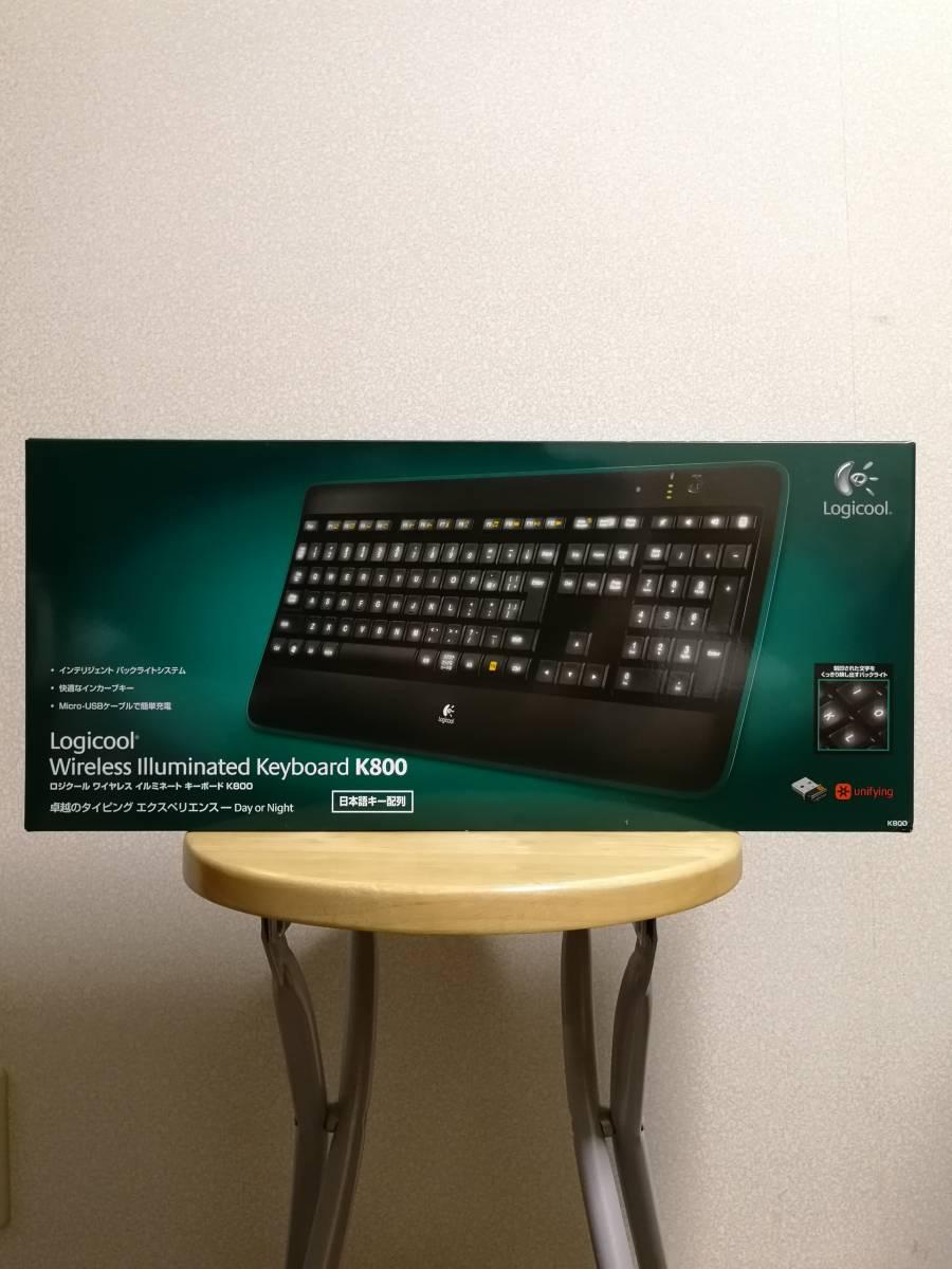 【未開封!】Wireless illuminated Keyboard K800 (キーボード) ロジクール