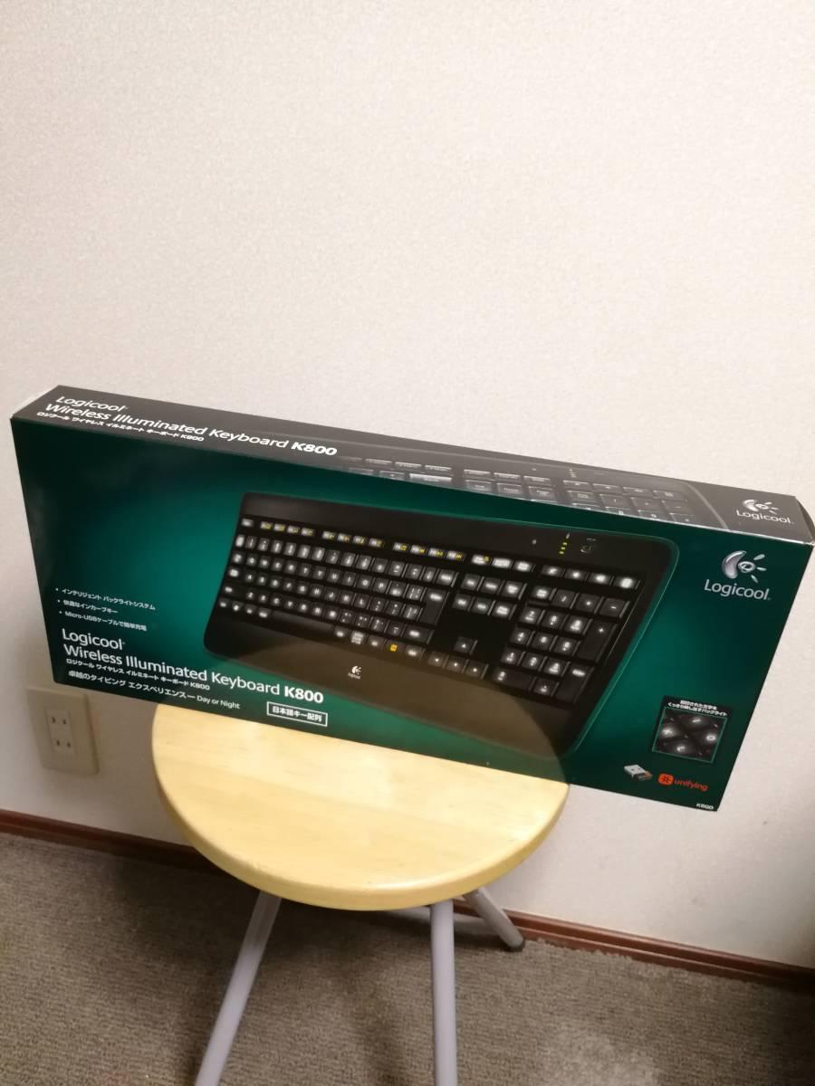【未開封!】Wireless illuminated Keyboard K800 (キーボード) ロジクール_画像2