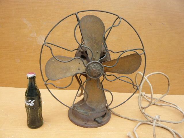 扇風機 芝浦電機 4枚羽根 鉄製 アンティ―ク