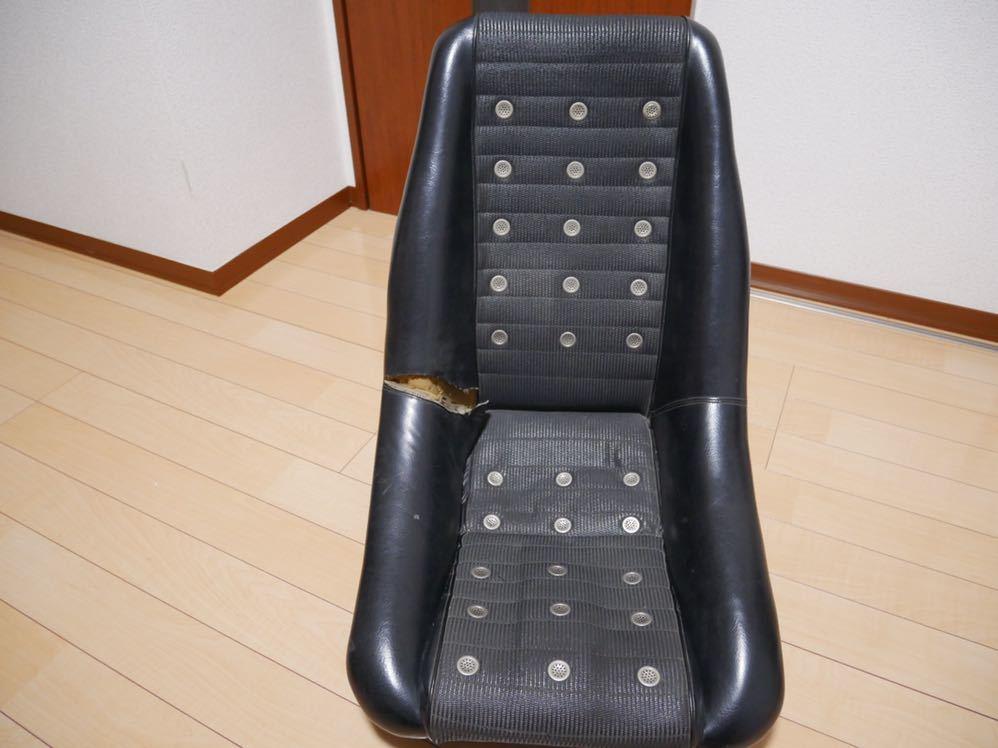 売り切り ダットサンバケットシート ダッツンバケット 当時物 破れ有り ハコスカ ケンメリ ジャパン S30 日産 旧車
