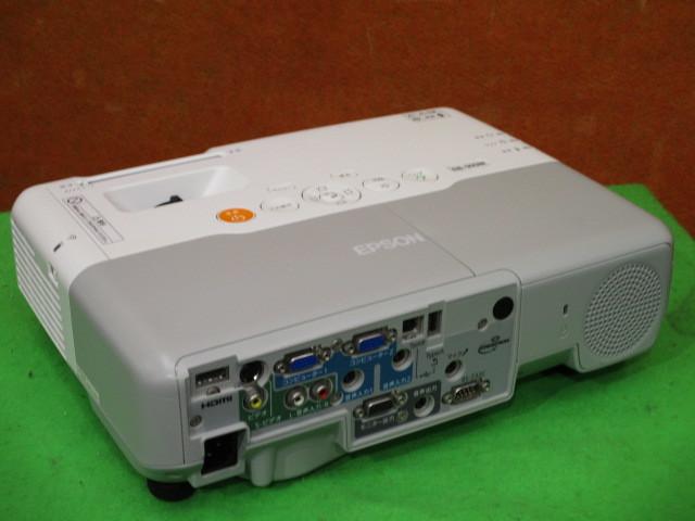 [A04199] EPSON EB-910W 液晶プロジェクター 3200ルーメン 簡易チェック済み_画像3