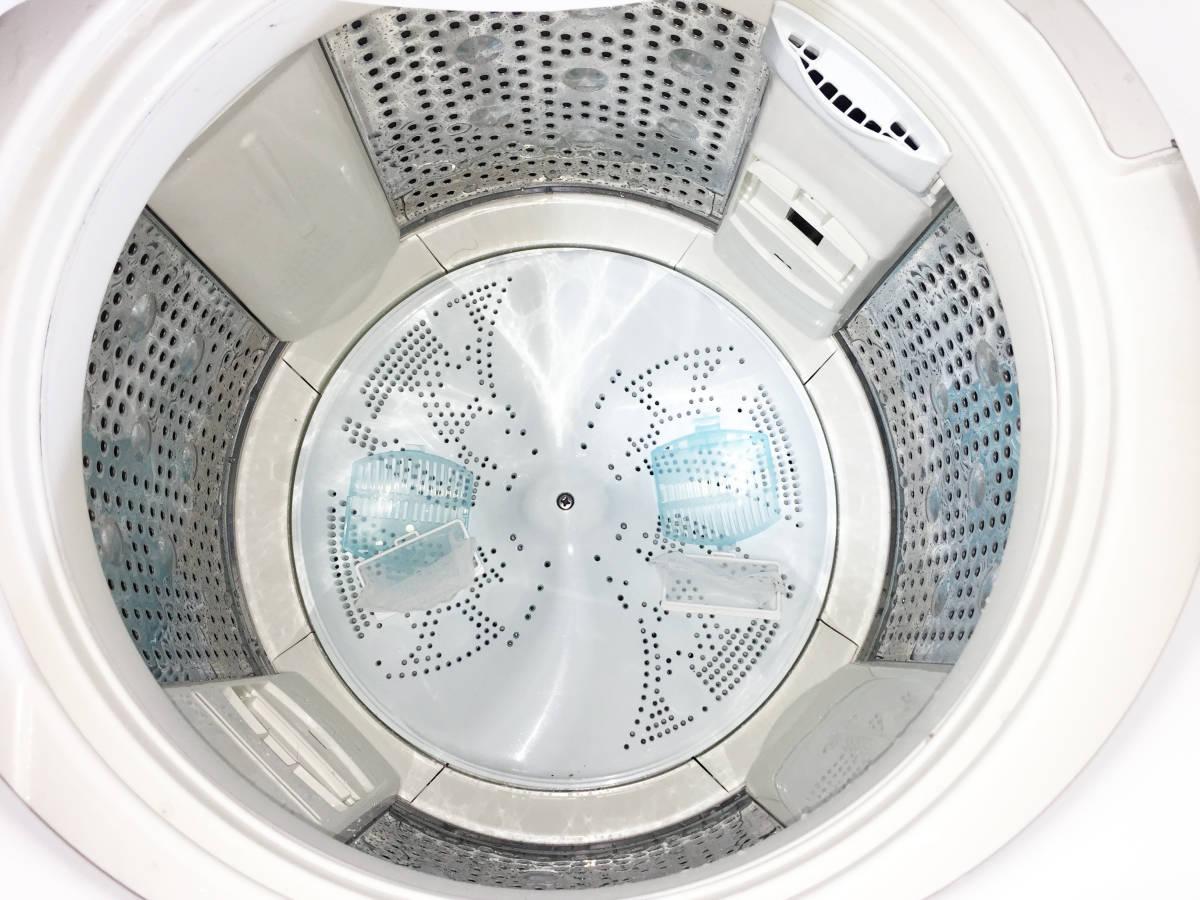 ◎送料無料!!★極上美品★中古◎ 日立 8㎏「ビートウォッシュ」ナノチタン消臭アレルオフフィルター 洗濯機【BW-8PV】i200_画像6