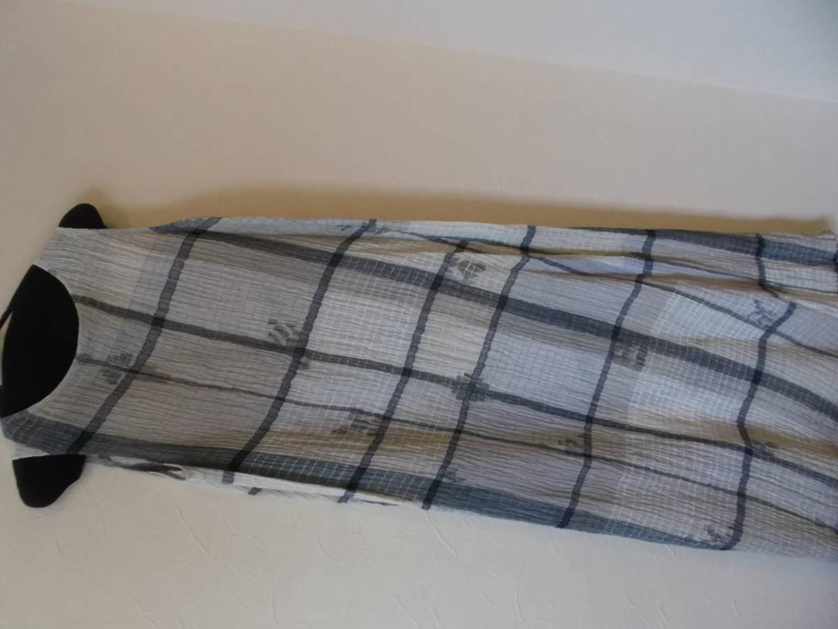 08*ヨーガンレール*綿&絹ワンピース&上着&ストール3点セット(新品)_画像3