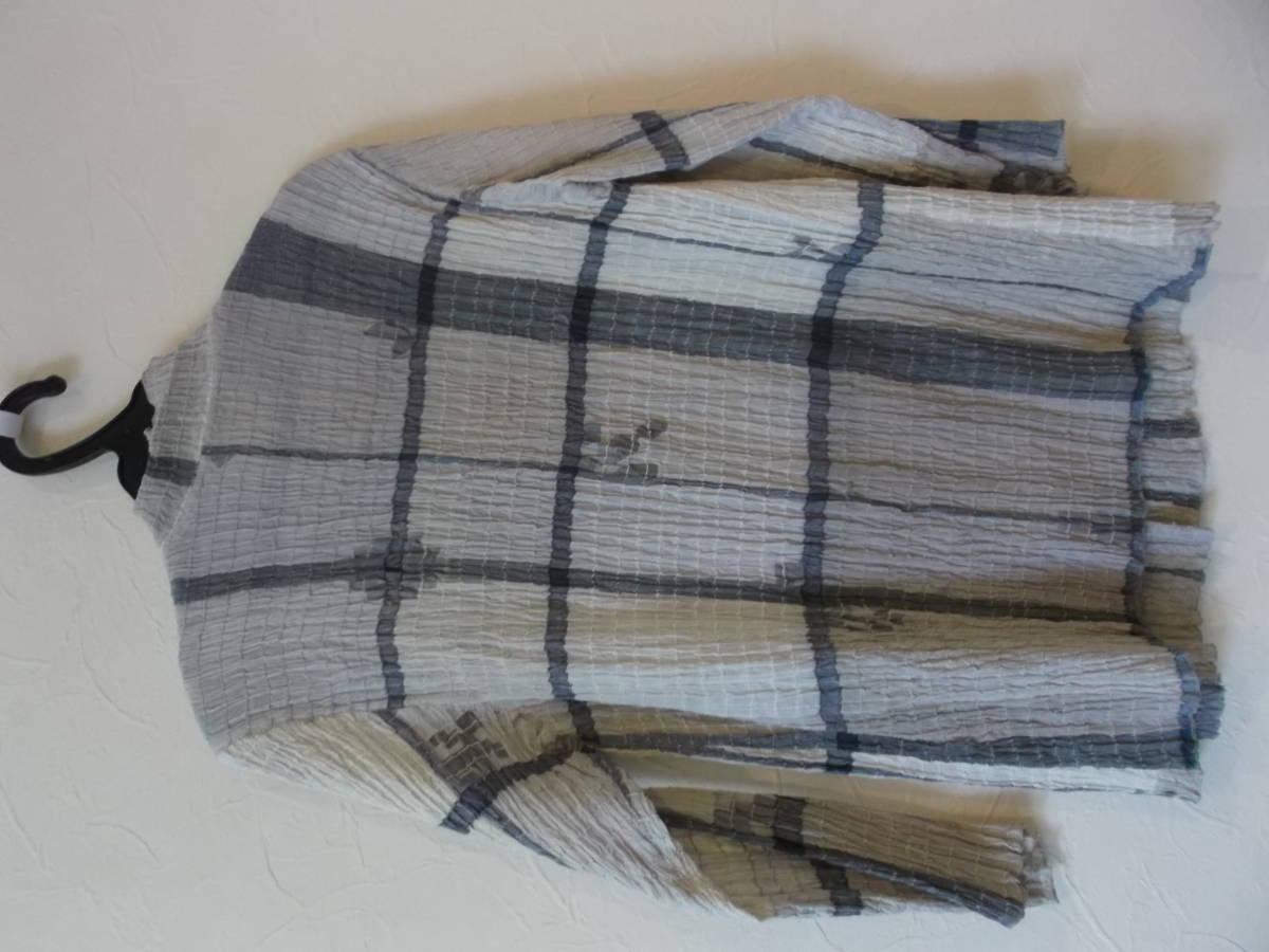 08*ヨーガンレール*綿&絹ワンピース&上着&ストール3点セット(新品)_画像5