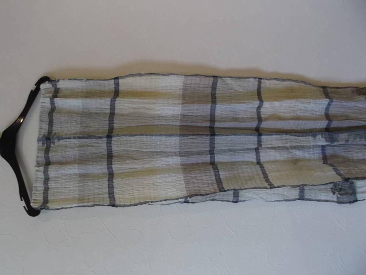08*ヨーガンレール*綿&絹ワンピース&上着&ストール3点セット(新品)_画像6