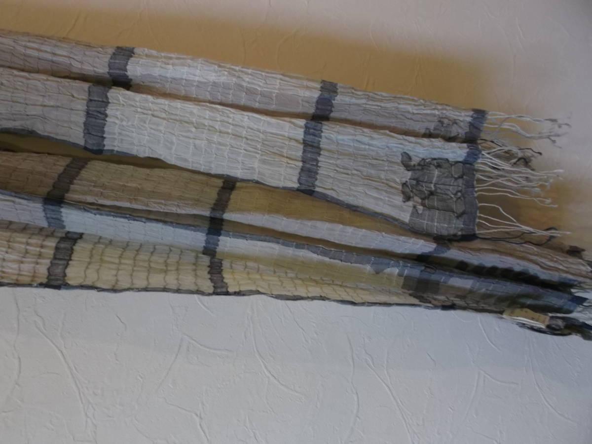 08*ヨーガンレール*綿&絹ワンピース&上着&ストール3点セット(新品)_画像8