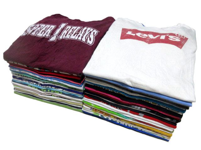 USA古着卸アメカジ50枚プリントTシャツ大量セットLEVISアバクロLevi'sミッキーNIKEタイダイHanesビンテージ福袋GAP業販80s90sまとめ売り1円