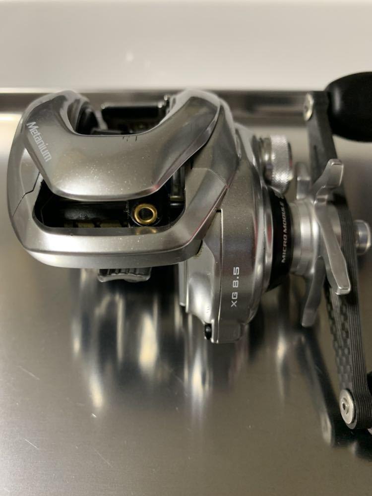 シマノ メタニウムmgl XG 左 (ZPIカーボンハンドル付)_画像5