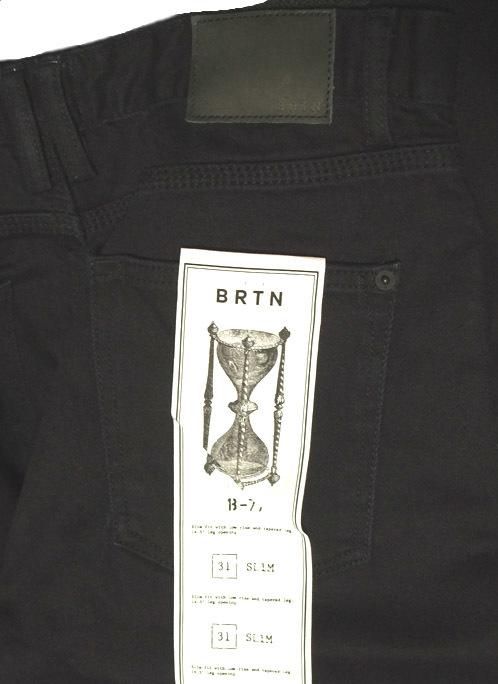 BURTON B77 Slim デニム ジーンズ True Black 31 バートン 黒 ブラック_画像3