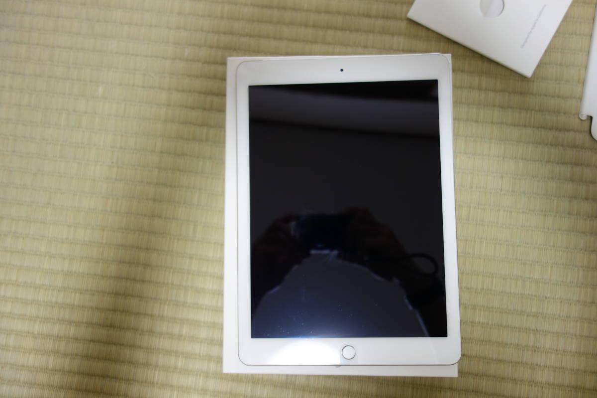 docomo版 iPad Air2 64GB 美品 送料無料※最落なし※1円スタート※シルバー_画像2