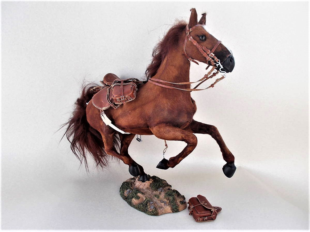 ☆DID★1/6ULTIMATE REALISTIC HORSE:馬フィギュア・ジャンク品☆