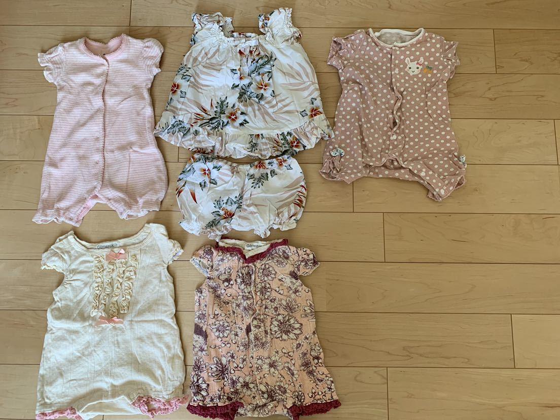女の子★50~60サイズ★0~3ヶ月★夏物★ブランド物あり