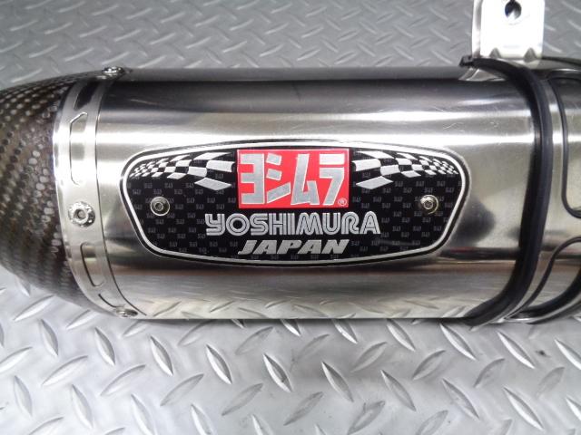 【PCX125(JF28後期以降)/150】YOSHIMURAヨシムラ R-77S サイクロン カーボンエンド《EXPORT SPEC》☆JF28後期/56・KF12/18専用_画像9