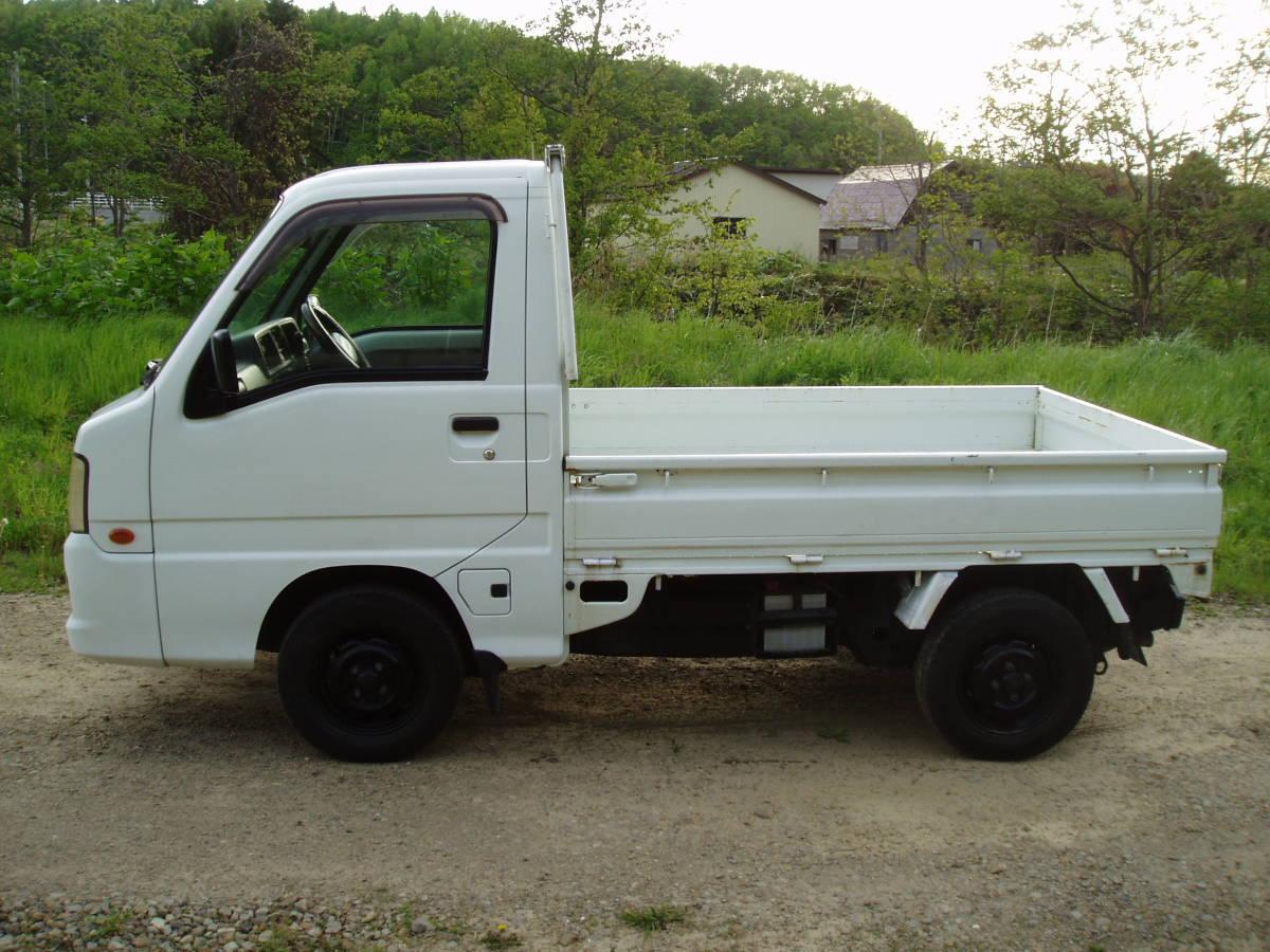 サンバートラック 低走行 4WD AT 札幌~~ 即決特典あり_画像5
