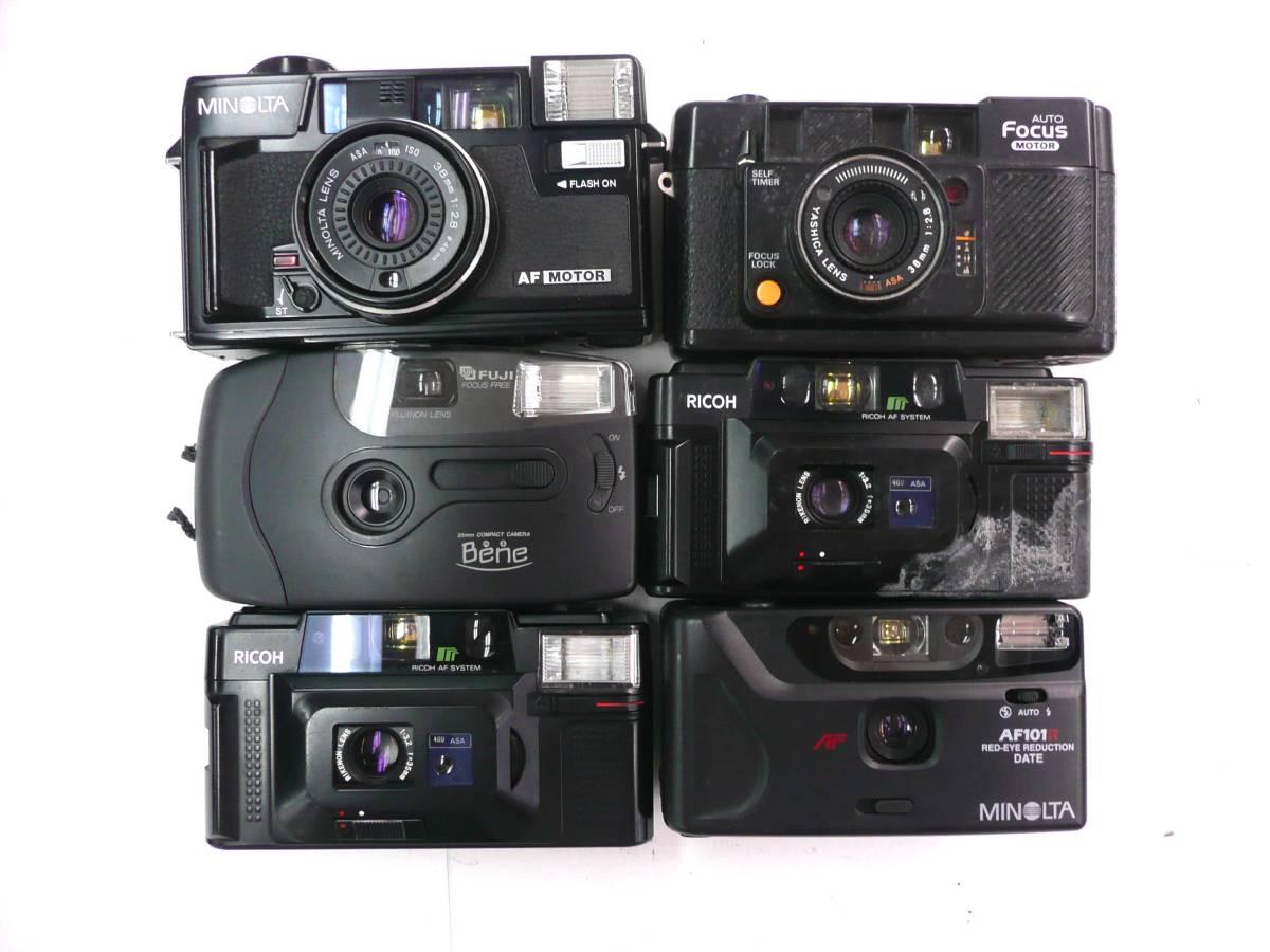 【ジャンク カメラ】 単焦点コンパクトカメラ Konica RICOH MINOLTA など計30台セット (J902M) 同梱発送不可_画像4