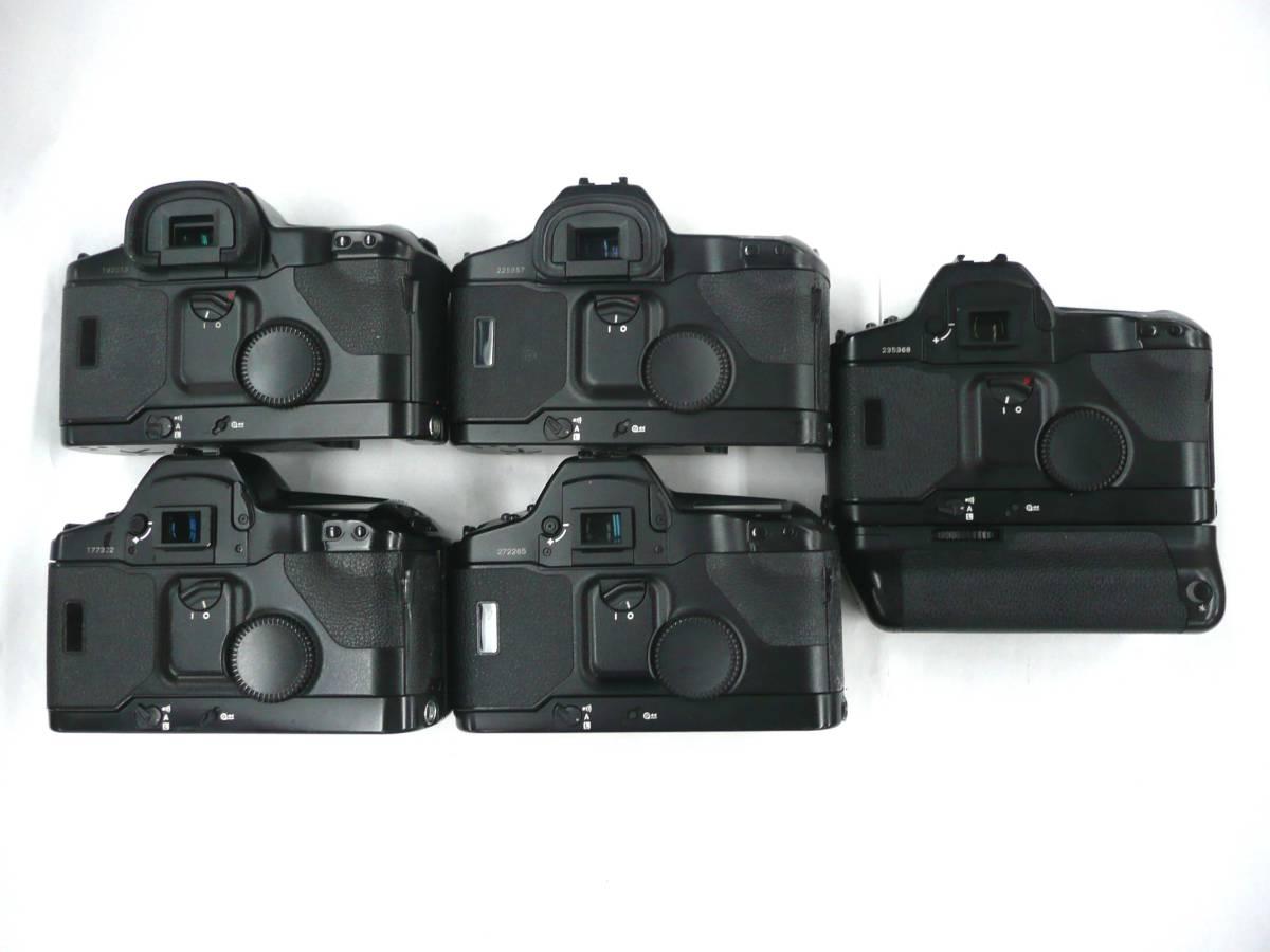 【ジャンク カメラ】 Canon EOS-1/1-N ボディ 計5台セット キヤノン (J920M) 同梱発送不可_画像2