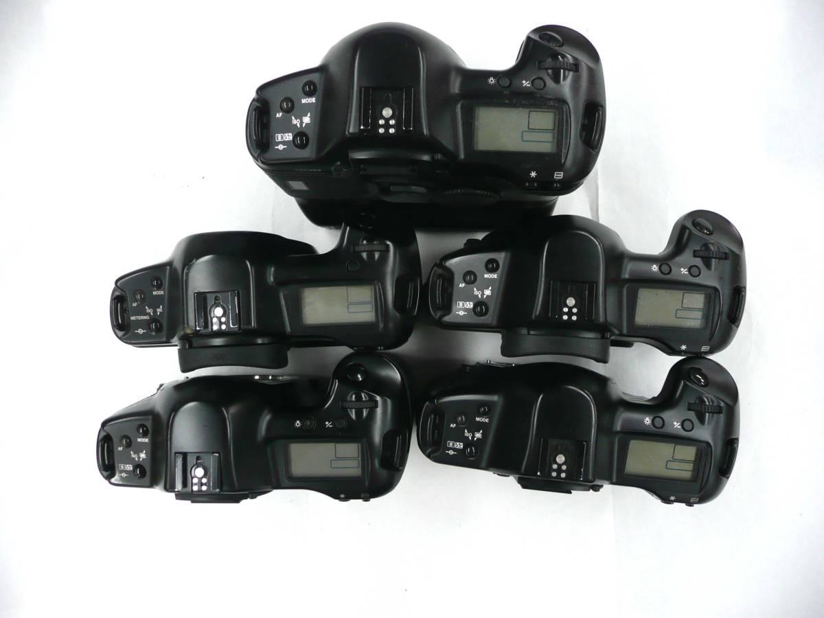 【ジャンク カメラ】 Canon EOS-1/1-N ボディ 計5台セット キヤノン (J920M) 同梱発送不可_画像3