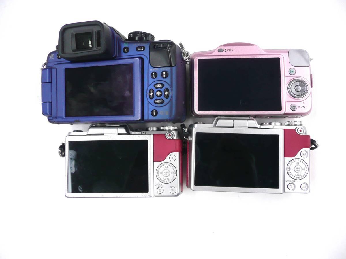 【ジャンク カメラ】 Panasonic LUMIX DMC-G2/GF3/GF7 ボディ 計4台セット パナソニック (J921M)_画像3