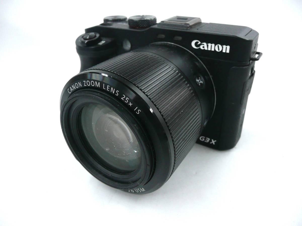 【ジャンク カメラ】 Canon PowerShot G3X キヤノン (J943M)