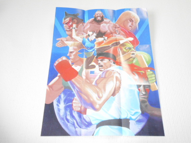 SFC★STREET FIGHTER 2 30th ANNIVERSARY EDITION SNES 海外版(国内本体動作不可) ポスター付 美品 端子清掃済み_画像3