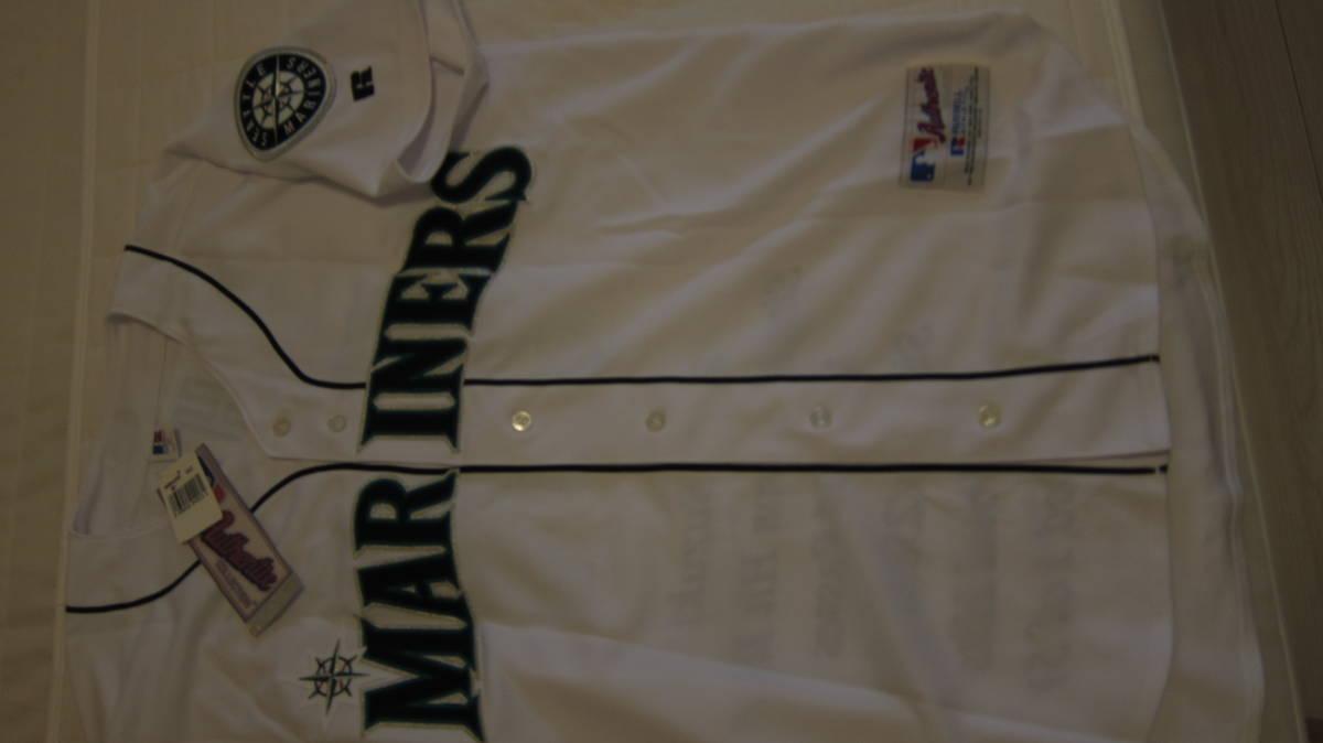 イチロー ジャージ レア 2004 ユニフォーム MLB マリナーズ 刺繍 最多安打 記念 限定 51枚_画像2