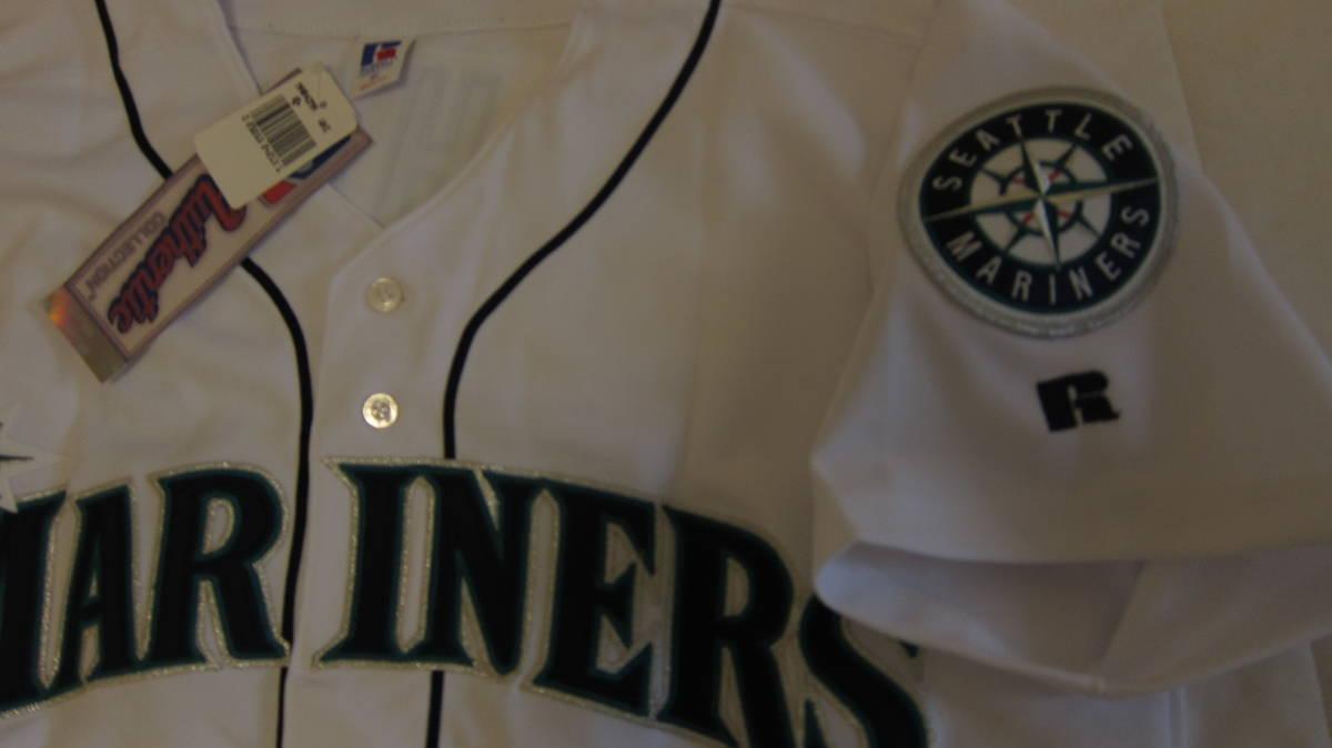 イチロー ジャージ レア 2004 ユニフォーム MLB マリナーズ 刺繍 最多安打 記念 限定 51枚_画像4