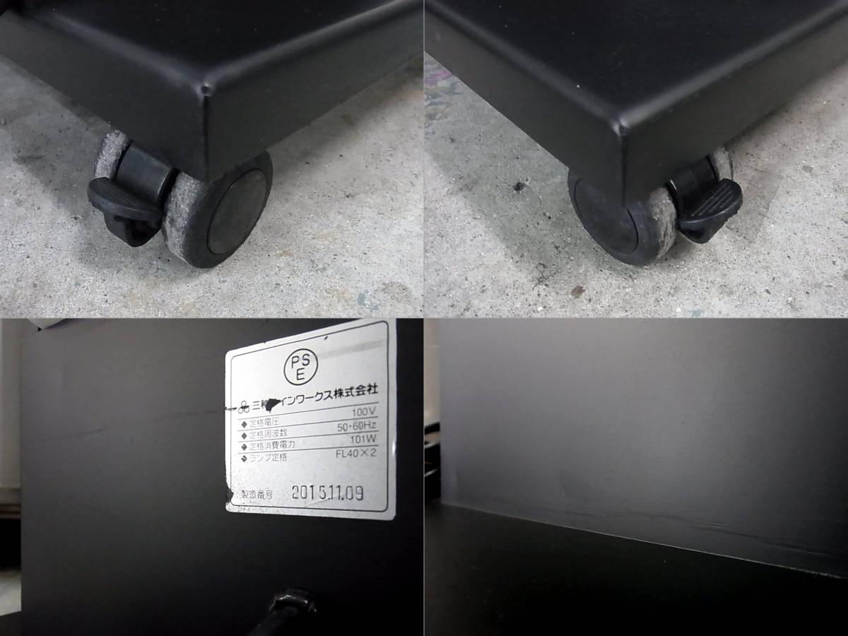 【三和サインワークス 4面 電飾看板 H1340mm】業務用 電光看板 照明看板 スタンドサイン ライト_画像10