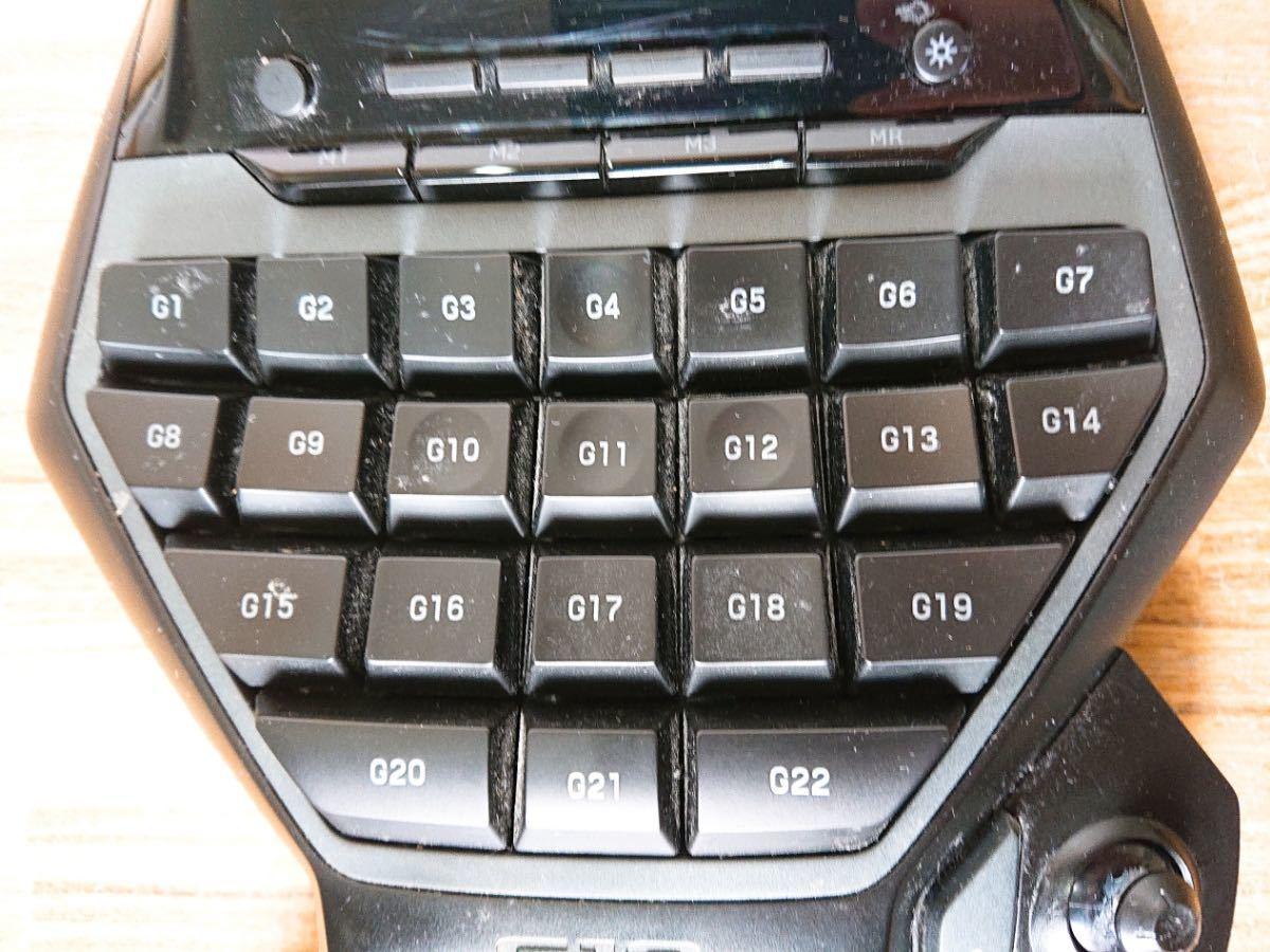 ∀ Logicool ロジクール G13r Advanced Gameboard アドバンスゲームボード 左手用 動作品_画像2