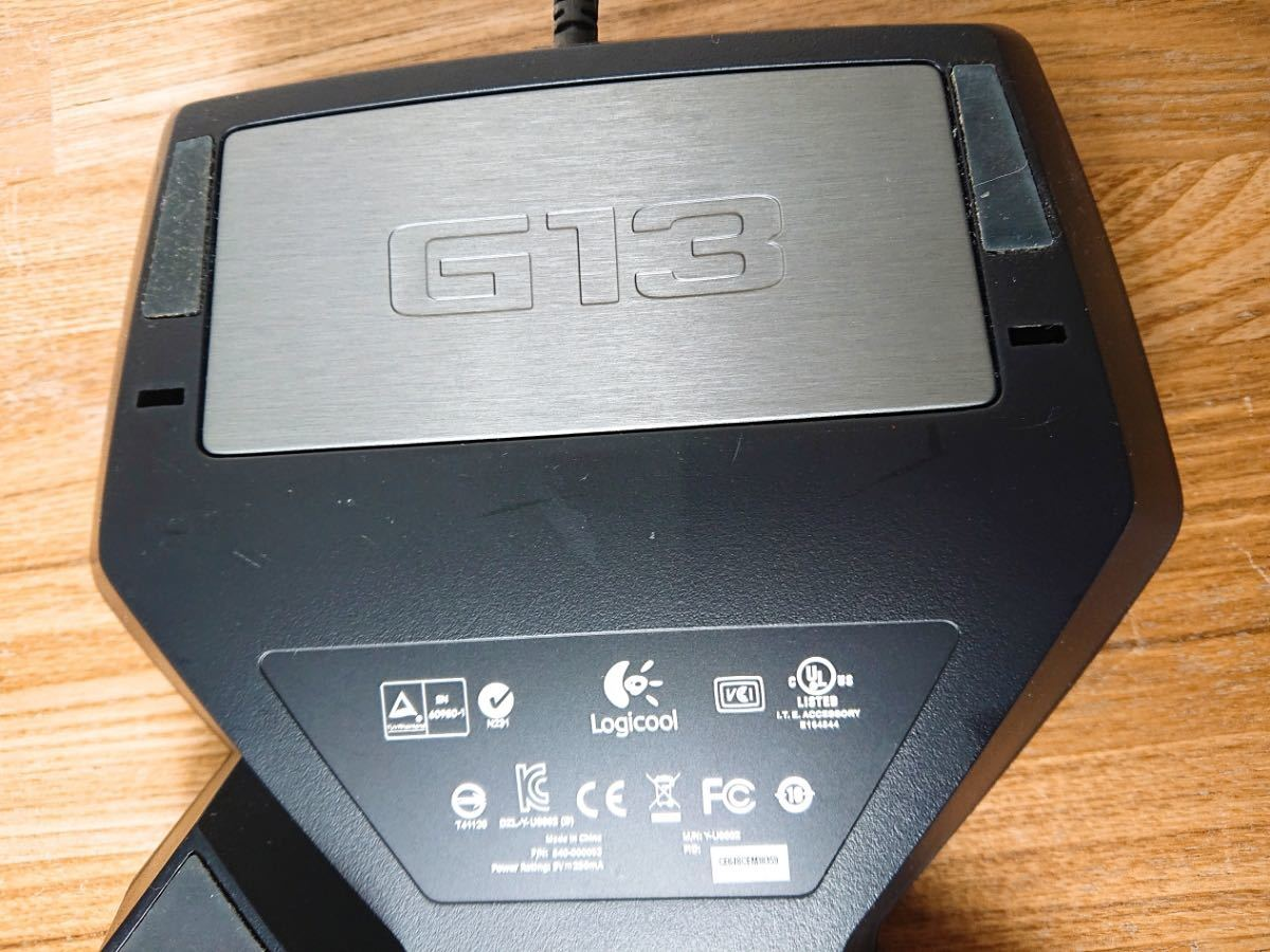 ∀ Logicool ロジクール G13r Advanced Gameboard アドバンスゲームボード 左手用 動作品_画像5