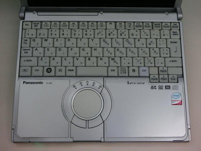 ◆使用感あり◆ CF-W8 Core2Duo /HDD250GB/メモリ2GB/Windows10_画像2