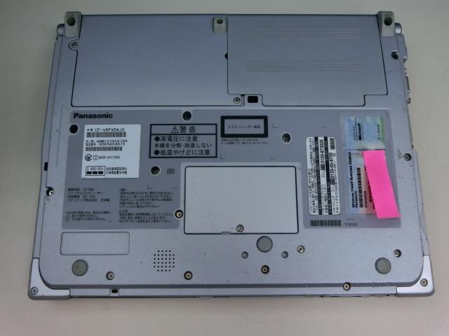 ◆使用感あり◆ CF-W8 Core2Duo /HDD250GB/メモリ2GB/Windows10_画像8