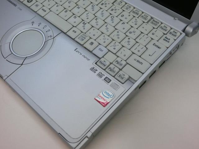 ◆使用感あり◆ CF-W8 Core2Duo /HDD250GB/メモリ2GB/Windows10_画像3