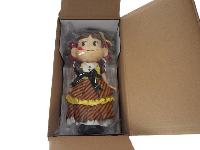 ☆ ぺこちゃん人形 お座りペコちゃん人形 昭和レトロ風 懸賞当選品 非売品 フィギュア コレクション