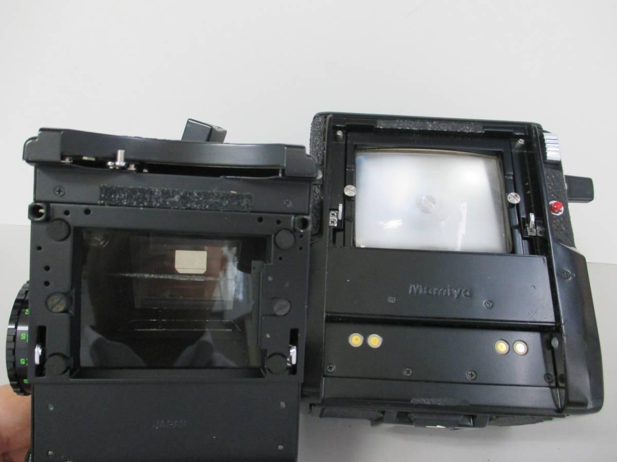 U30684  中古★マミヤ M645 1000s 中判カメラ MAMIYA-SEKOR C 1:1.9 f=80mm レンズ グリップ 付き_画像7