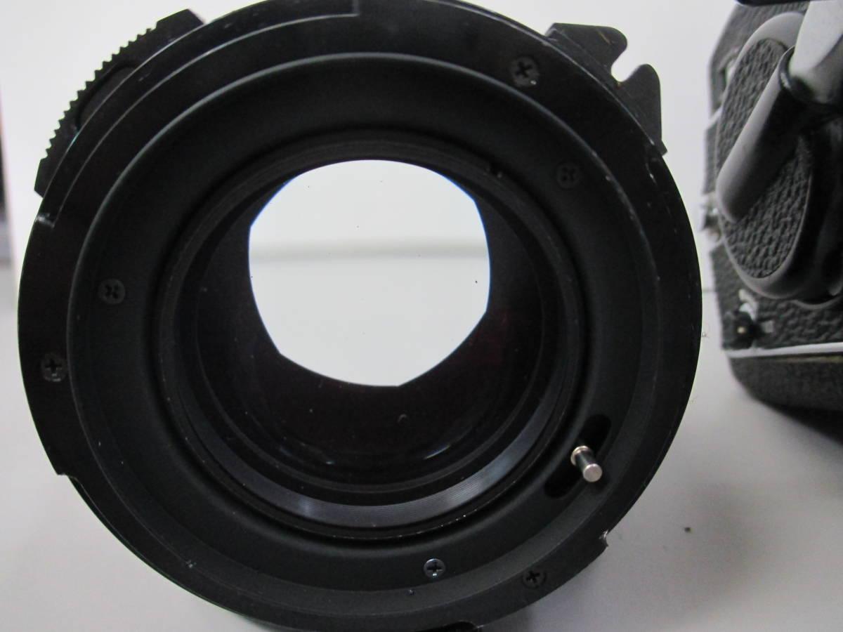 U30684  中古★マミヤ M645 1000s 中判カメラ MAMIYA-SEKOR C 1:1.9 f=80mm レンズ グリップ 付き_画像3