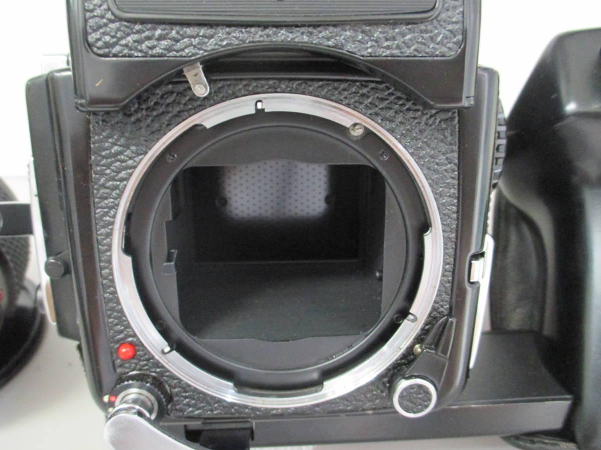 U30684  中古★マミヤ M645 1000s 中判カメラ MAMIYA-SEKOR C 1:1.9 f=80mm レンズ グリップ 付き_画像4