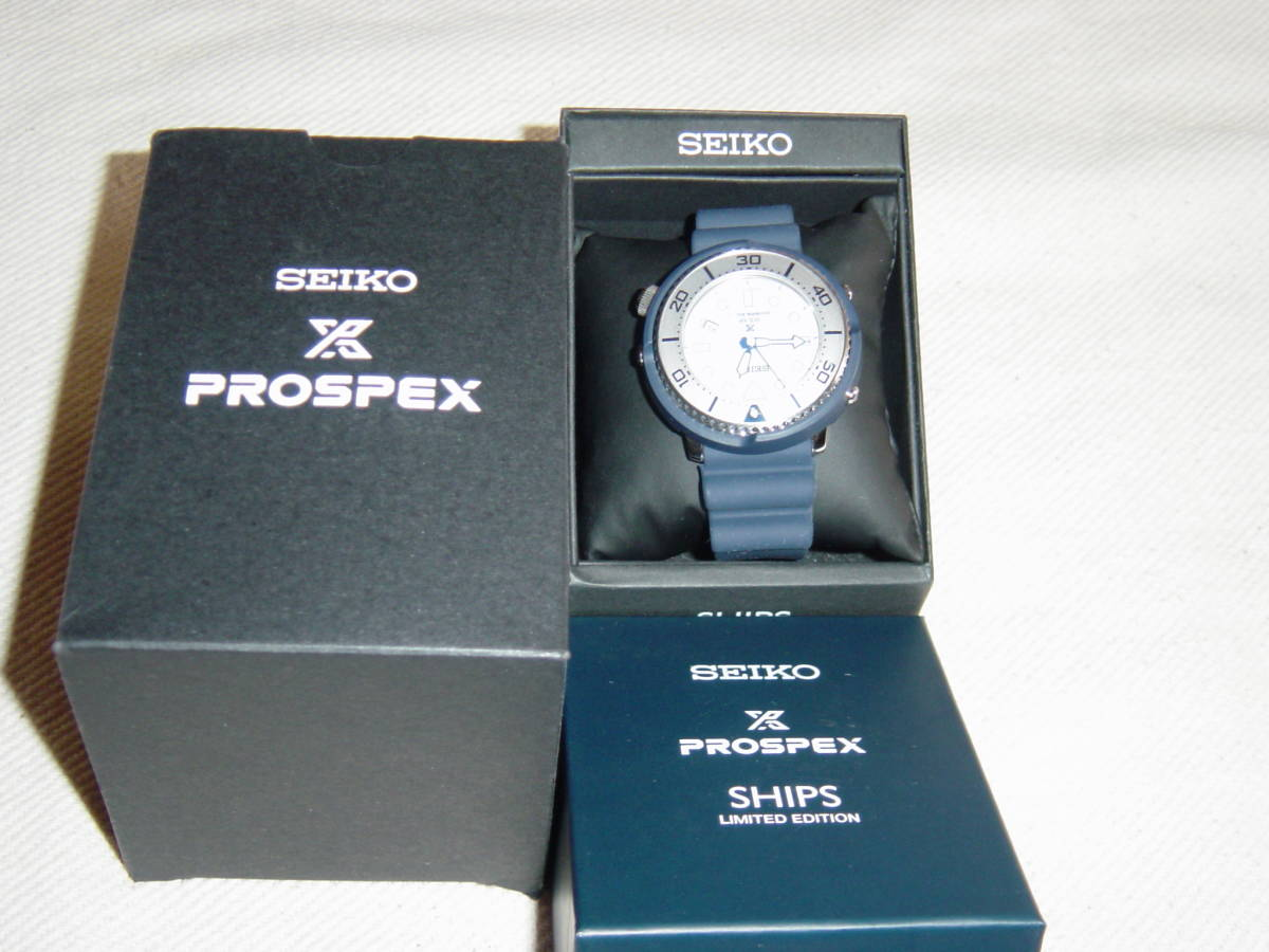 SEIKO PROSPEX DIVER SCUBA Limited Edition SHIPS Exclusive Model_画像2