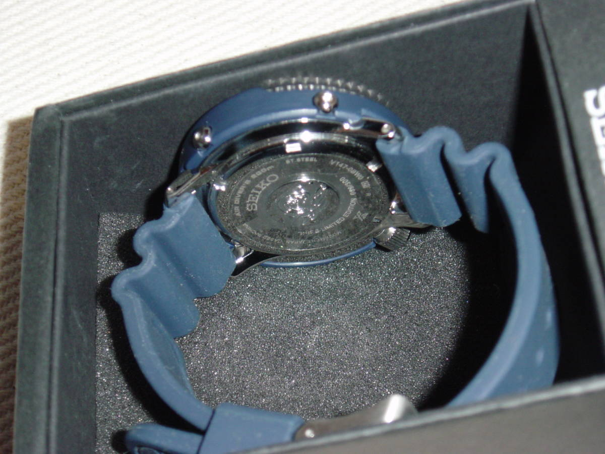 SEIKO PROSPEX DIVER SCUBA Limited Edition SHIPS Exclusive Model_画像6