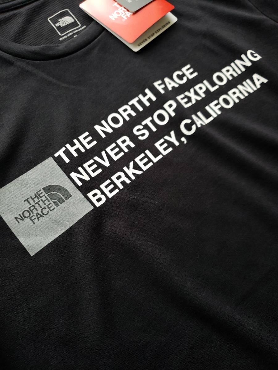 新品 国内正規品 ザ ノース フェイス THE NORTH FACE メンズ トレッキング 半袖Tシャツ SQUARE LOGO TEE ブラック  Lサイズ_画像2