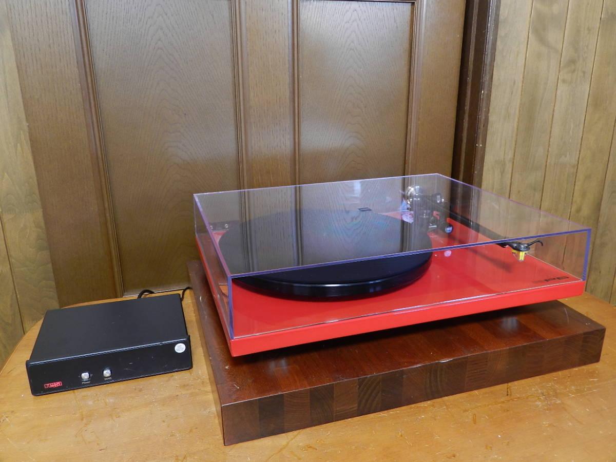 Rega(レガ)RP6//英国製 音楽再生の為のMODELです//カートリッジ装備//新品 開封のみ(メーカー保証付)¥183.600定価品