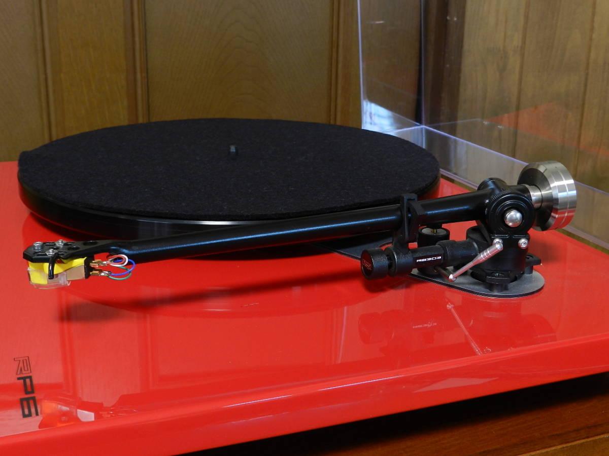 Rega(レガ)RP6//英国製 音楽再生の為のMODELです//カートリッジ装備//新品 開封のみ(メーカー保証付)¥183.600定価品_画像6