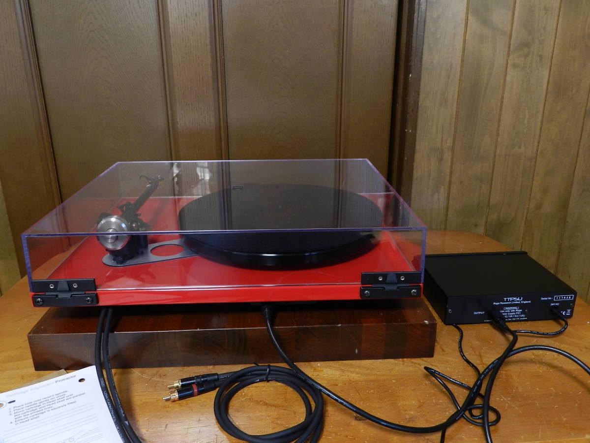 Rega(レガ)RP6//英国製 音楽再生の為のMODELです//カートリッジ装備//新品 開封のみ(メーカー保証付)¥183.600定価品_画像7