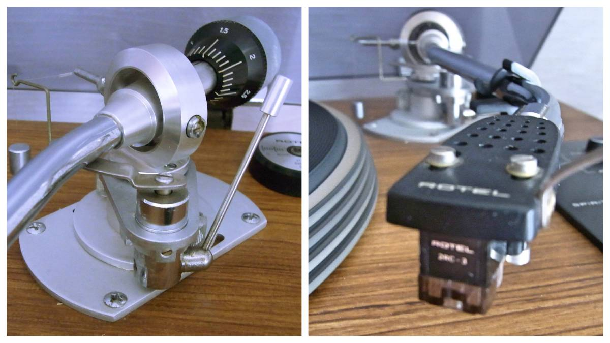 名機 ROTEL RP-3000 オリジナルカートリッジ&針付き  _画像4