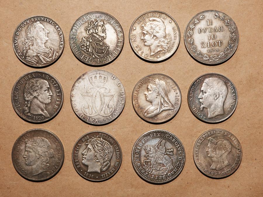 外国硬貨まとめて フランス.イギリス.12枚 希少硬貨 277.6g